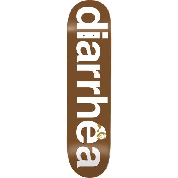 "Enjoi Skateboards Diarrhea Brown Skateboard Deck Resin-7 - 8.25"" x 32.1"""