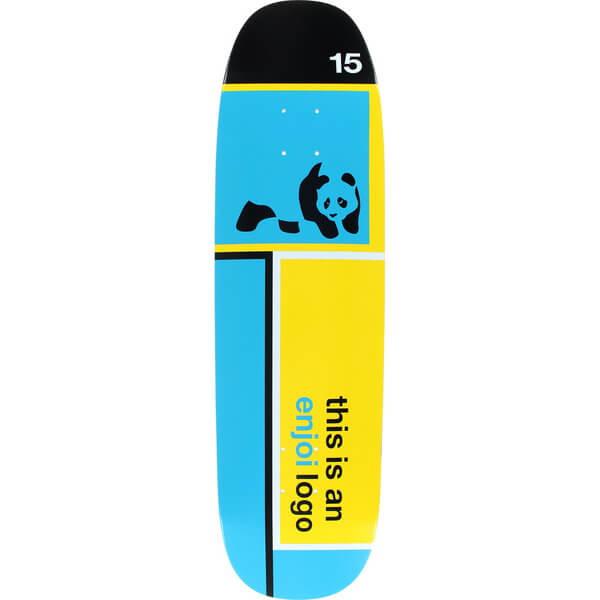 Enjoi Skateboards Enjoi Logo Skateboard Deck - 8.5 x 31.9 ...