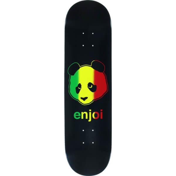 Enjoi Skateboards Rastafari Panda Deck