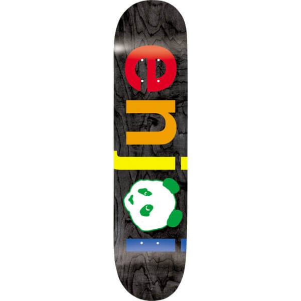 Enjoi Skateboards Spectrum No Brainer Black Hybrid Skateboard Deck ... 8d0c9e2e7e7