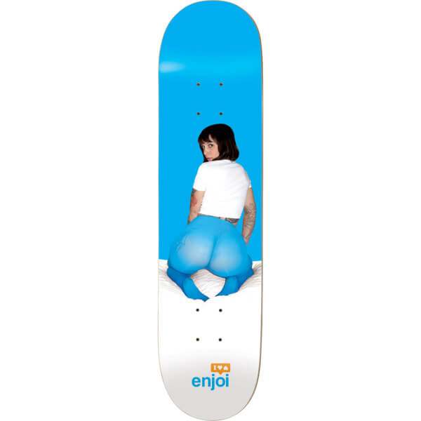 Enjoi Skateboards Trina Blue Skateboard Deck Resin-7 - 8 5 x