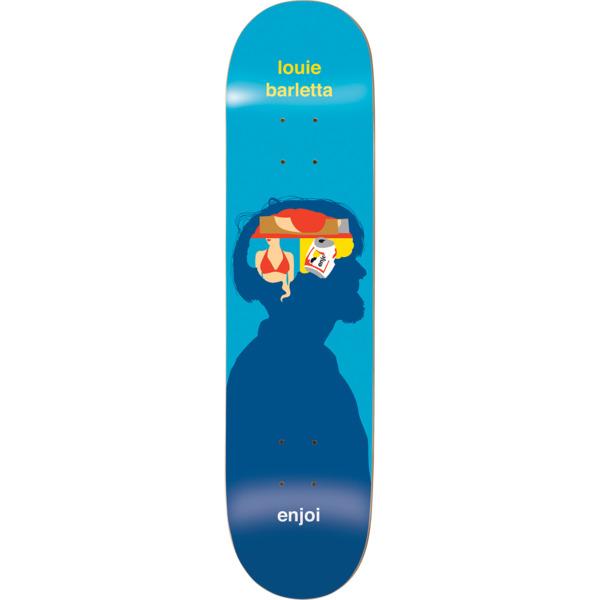 "Enjoi Skateboards Louie Barletta Brain Waves Skateboard Deck Resin-7 - 8.25"" x 32.1"""
