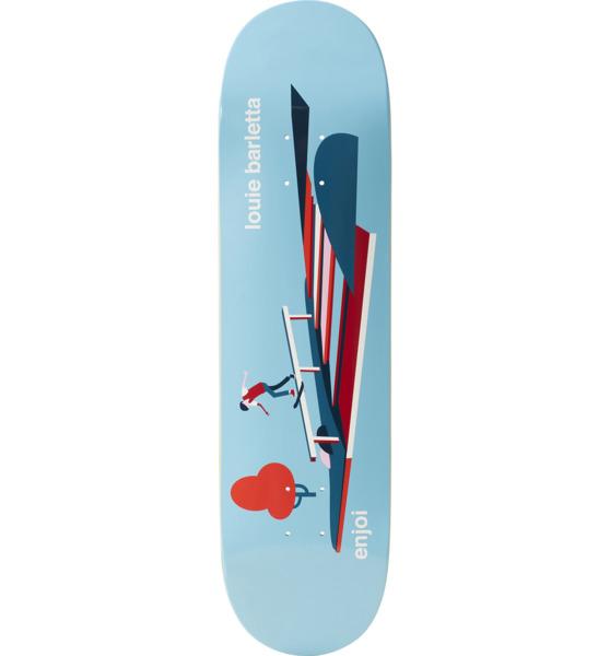 "Enjoi Skateboards Louie Barletta Spot Check Skateboard Deck Resin-7 - 7.75"" x 31.1"""