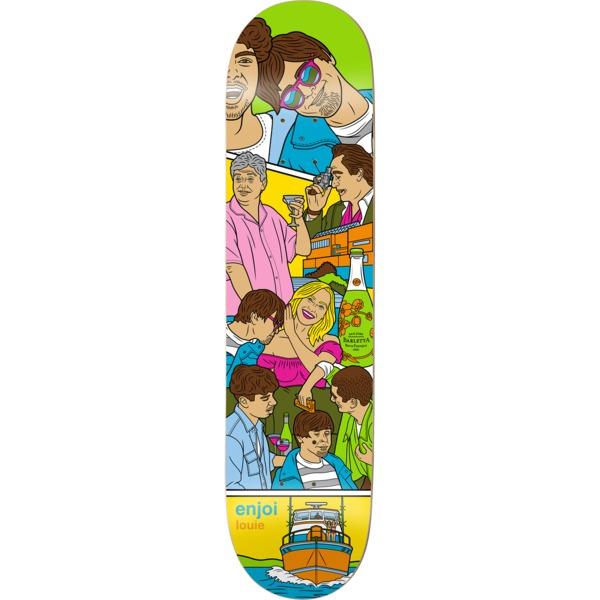 """Enjoi Skateboards Louie Barletta Weekend At Louie's Skateboard Deck - 8.5"""" x 32.2"""""""
