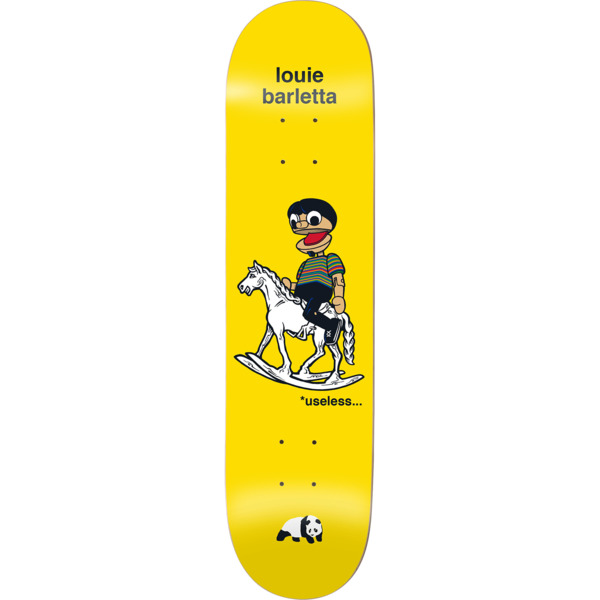 "Enjoi Skateboards Louie Barletta What's The Deal Skateboard Deck Impact Light - 8"" x 31.6"""