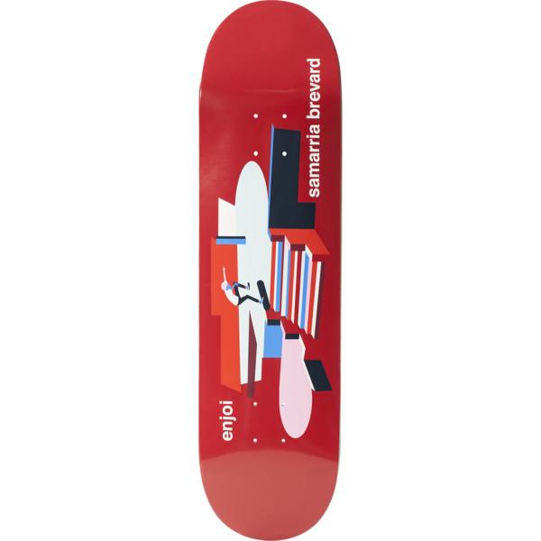 "Enjoi Skateboards Samarria Brevard Spot Check Skateboard Deck Resin-7 - 8"" x 31.6"""