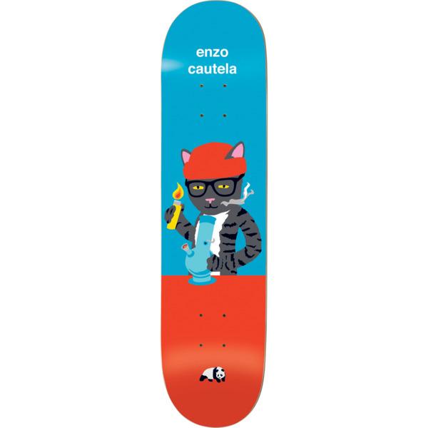"""Enjoi Skateboards Enzo Cautela Pussy Magnet V2 Blue / Red Skateboard Deck Resin-7 - 8.5"""" x 31.9"""""""