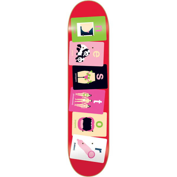 Enjoi Alphabet Deck