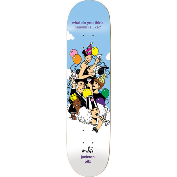 "Enjoi Skateboards Jackson Pilz Suburban Outfitters Skateboard Deck Resin-7 - 8.37"" x 31.7"""