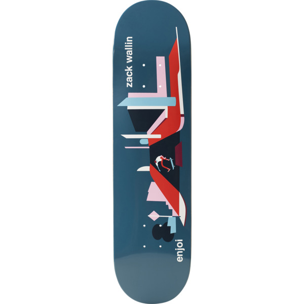 "Enjoi Skateboards Zack Wallin Spot Check Skateboard Deck Resin-7 - 8"" x 31.6"""