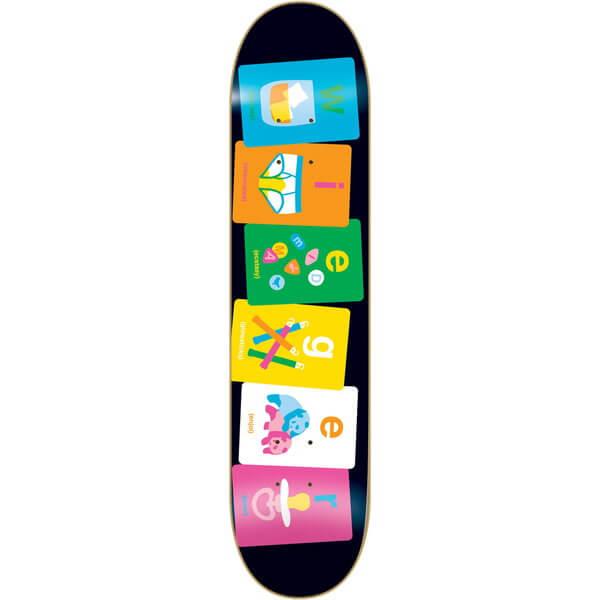 Enjoi Skateboards Alphabet Deck