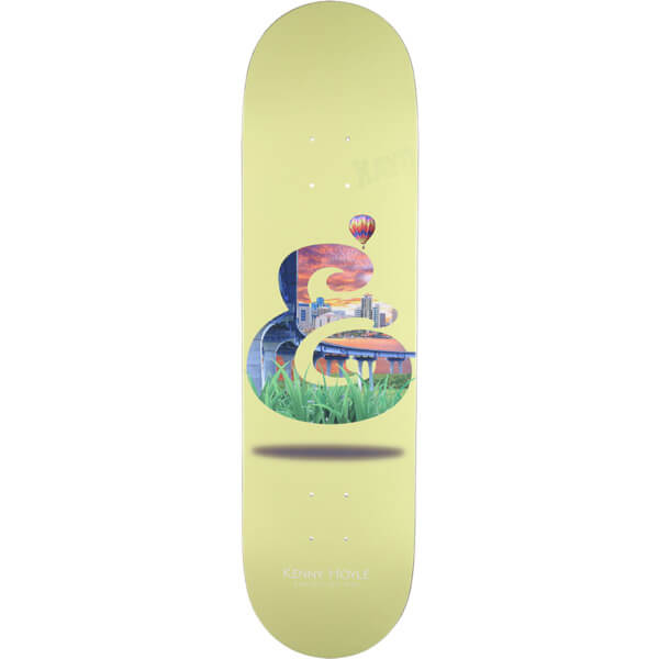 """Expedition One Skateboards Kenny Hoyle Collage Skateboard Deck - 8.25"""" x 32"""""""
