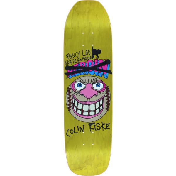 Fancy Lad Skateboards Fiske Coffin Deck