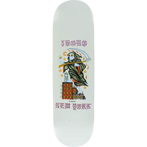 "5Boro NYC Skateboards x DS El Doogie Skateboard Deck - 8.25"" x 32"""