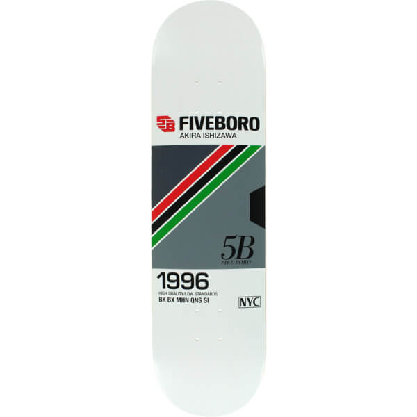 5Boro NYC Skateboards VHS Series Deck