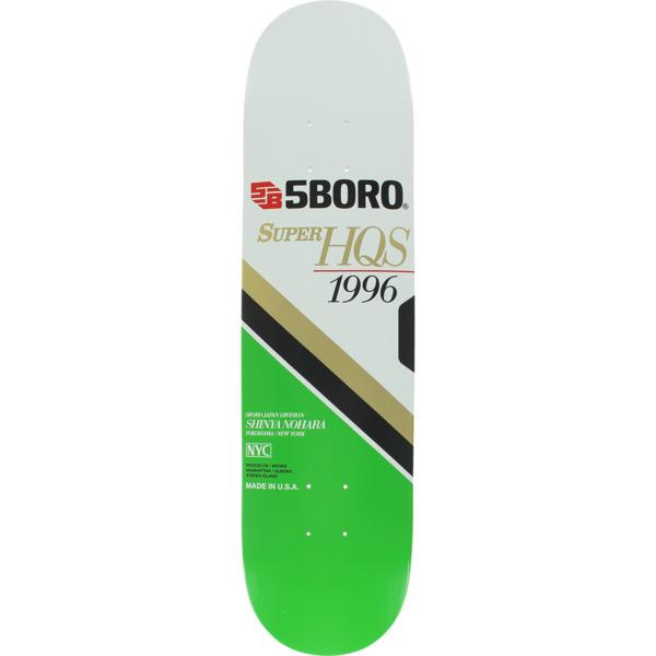 "5Boro NYC Skateboards Jordan Trahan VHS Skateboard Deck - 8.12"" x 32"""