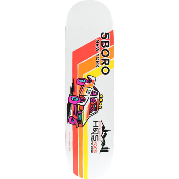 5Boro NYC Skateboards Moto Pick Up Deck