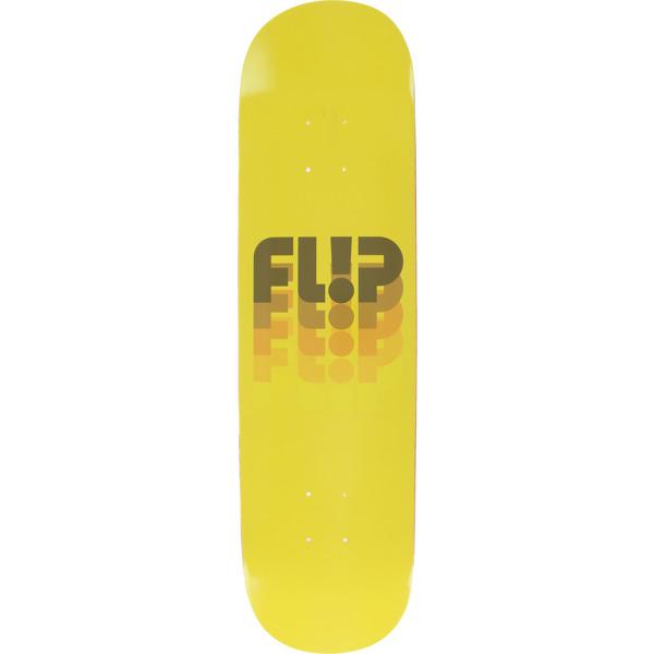 "Flip Skateboards Odyssey Fade Fullnose Yellow Skateboard Deck - 8"" x 31.4"""