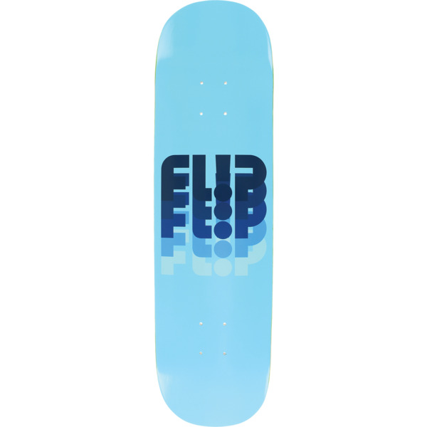 "Flip Skateboards Odyssey Fade Fullnose Blue Skateboard Deck - 8.25"" x 31.5"""