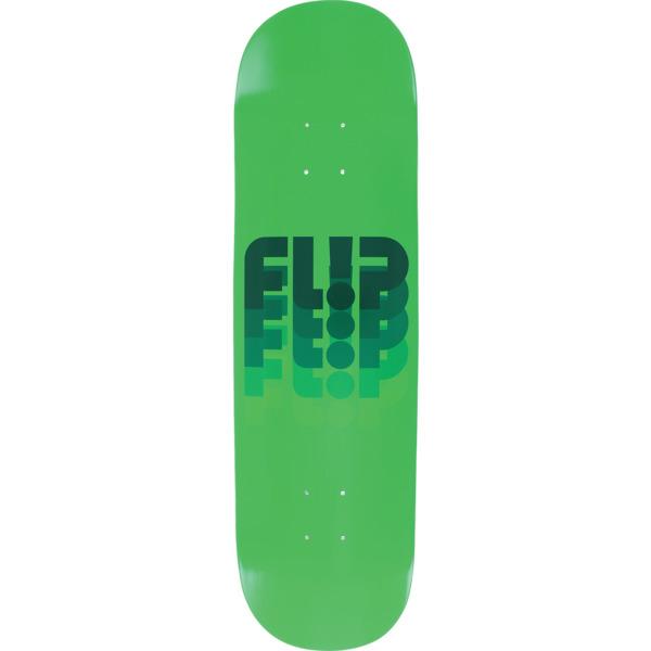 "Flip Skateboards Odyssey Fade Fullnose Green Skateboard Deck - 8.38"" x 31.4"""