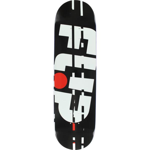 "Flip Skateboards Odyssey Glitch Black Skateboard Deck - 8.38"" x 32.5"""