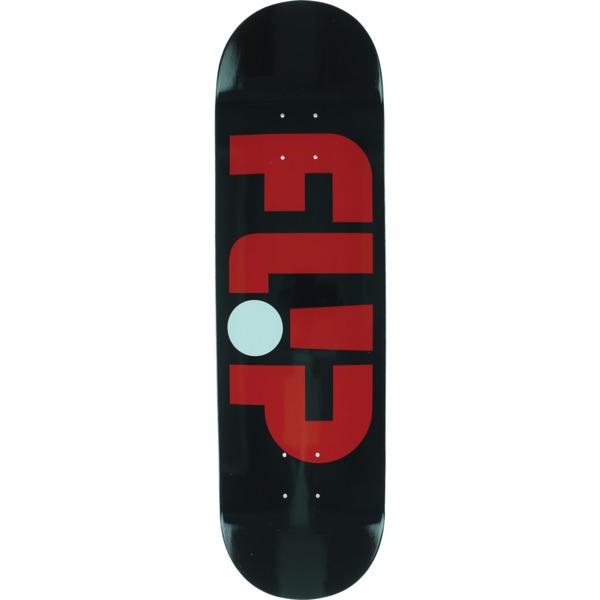 "Flip Skateboards Odyssey Logo Black Skateboard Deck - 8.5"" x 32.2"""