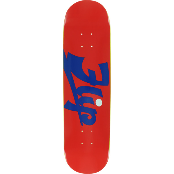 """Flip Skateboards Script Red Skateboard Deck - 8.12"""" x 32"""""""