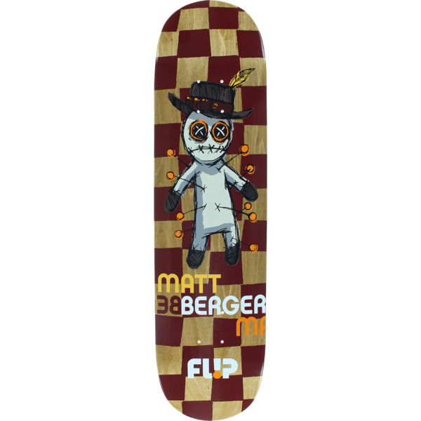 "Flip Skateboards Matt Berger Notebook Skateboard Deck - 8"" x 31.8"""