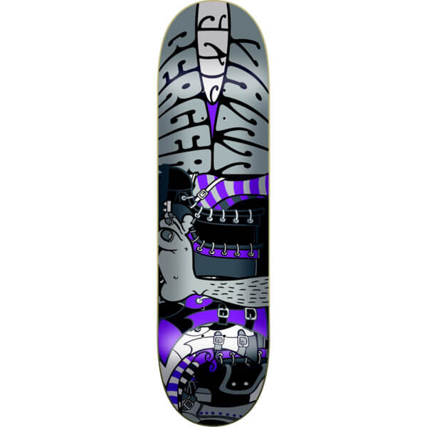 flip skateboards matt berger psychedelic skateboard deck