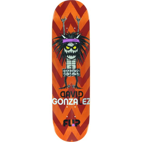 "Flip Skateboards David Gonzalez Notebook Skateboard Deck - 8"" x 31.5"""