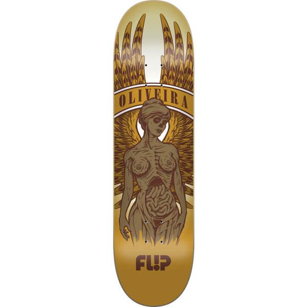 Flip Skateboards Oliveira Manikin Pro Deck