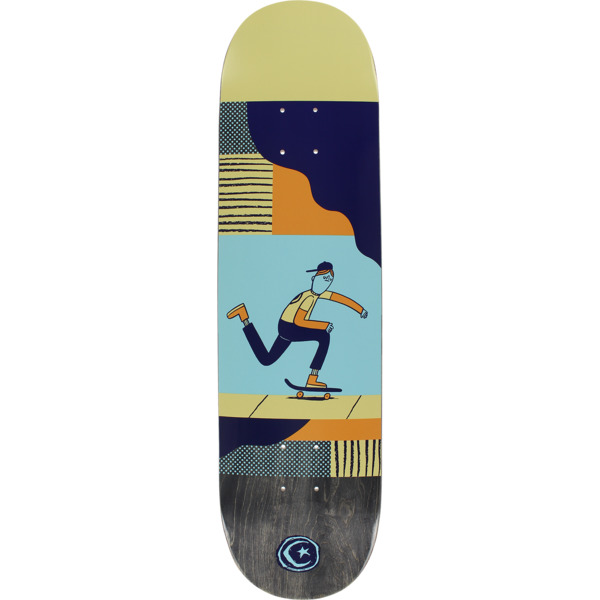 "Foundation Skateboards X JGB X Ryan Bubnis Push Skateboard Deck - 8"" x 31.63"""