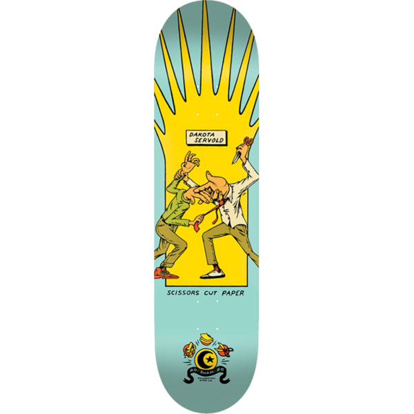 "Foundation Skateboards Dakota Servold Roshambo Skateboard Deck - 8.38"" x 32.5"""