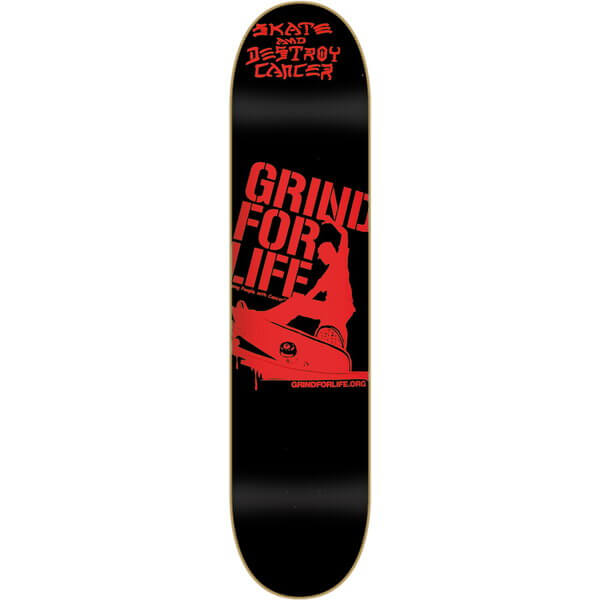 Grind For Life Logo Deck