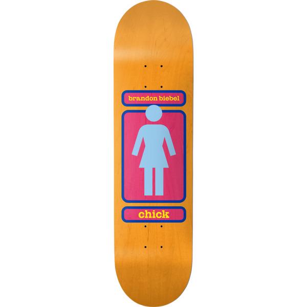 "Girl Skateboards Brandon Biebel 93 Til WR38 Skateboard Deck - 8"" x 31.875"""