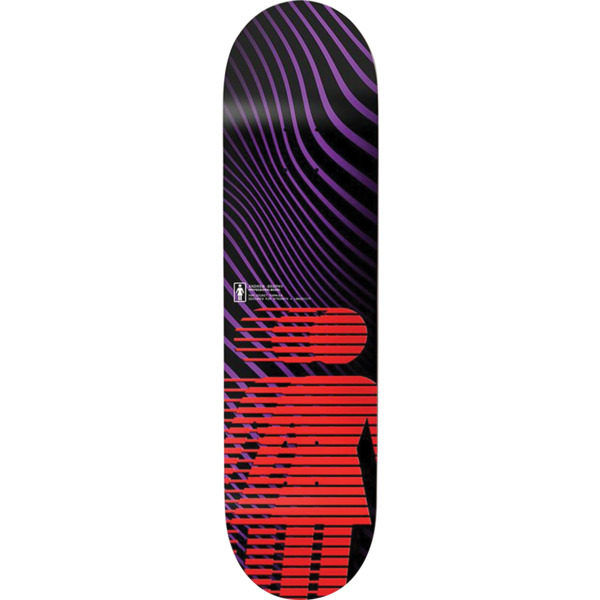 "Girl Skateboards Andrew Brophy Hero Skateboard Deck Pop Secret - 8"" x 31.875"""
