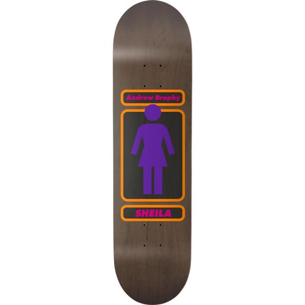 """Girl Skateboards Andrew Brophy 93 Til WR38 Skateboard Deck - 8.5"""" x 32"""""""
