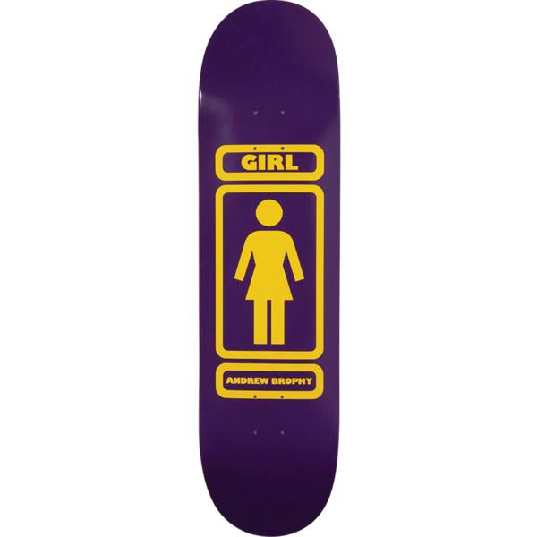 """Girl Skateboards Andrew Brophy 93 Til Skateboard Deck Pop Secret - 8.56"""" x 32.25"""""""
