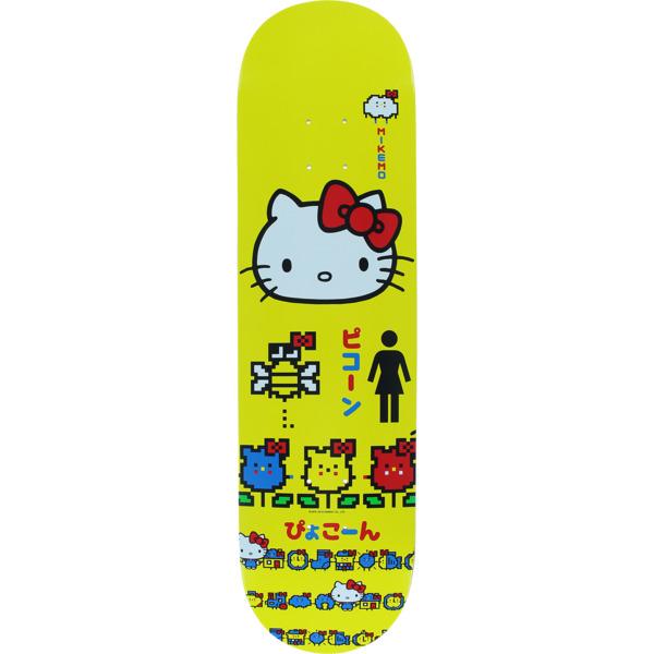 """Girl Skateboards Mike Mo Capaldi Hello Kitty 45th Skateboard Deck - 8.25"""" x 31.75"""""""
