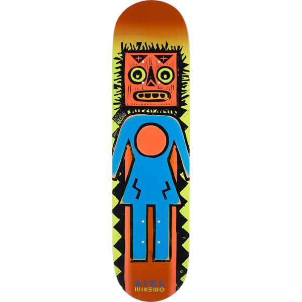 "Girl Skateboards Mike Mo Capaldi Tiki OG Skateboard Deck - 8"" x 31.875"""