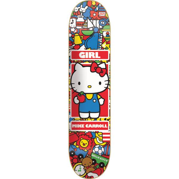 girl skateboards mike carroll hello kitty skateboard deck. Black Bedroom Furniture Sets. Home Design Ideas