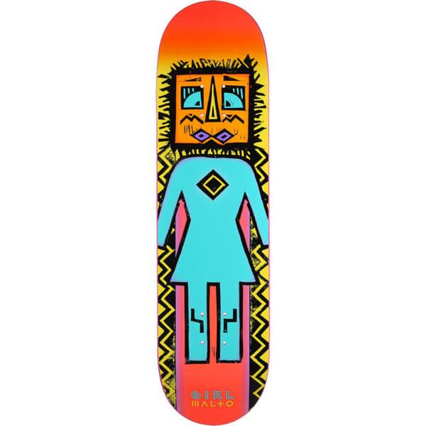 "Girl Skateboards Sean Malto Tiki OG Skateboard Deck - 8.25"" x 31.625"""
