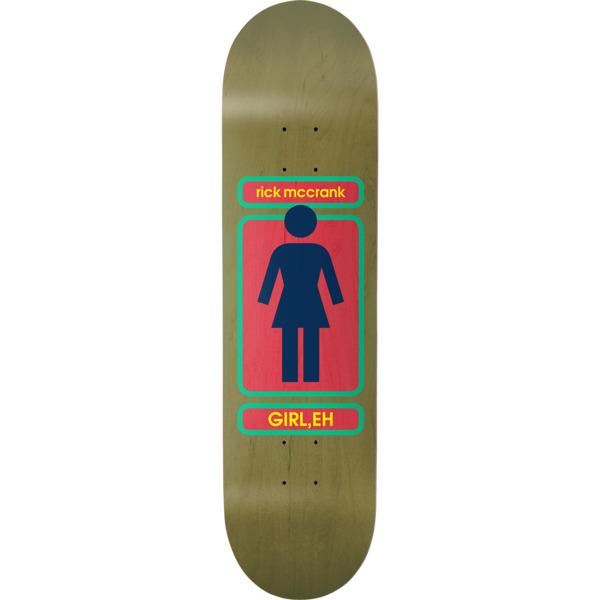 "Girl Skateboards Rick McCrank 93 Til WR38 Skateboard Deck - 8.37"" x 32"""