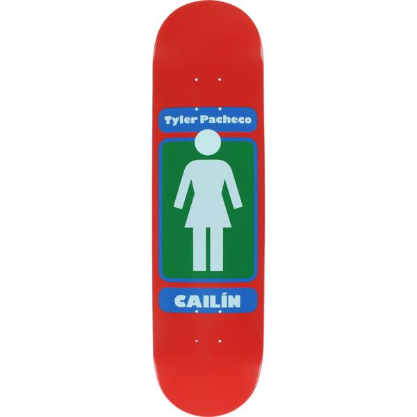 """Girl Skateboards Tyler Pacheco 93 Till WR37 Skateboard Deck - 8.12"""" x 31.625"""""""