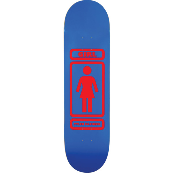 "Girl Skateboards Tyler Pacheco 93 Til Skateboard Deck - 7.87"" x 31.25"""