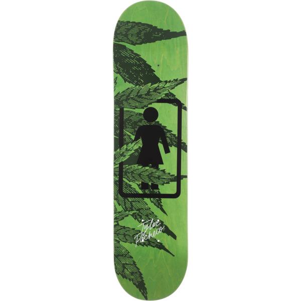"Girl Skateboards Tyler Pacheco Smokers Skateboard Deck - 8"" x 31.875"""