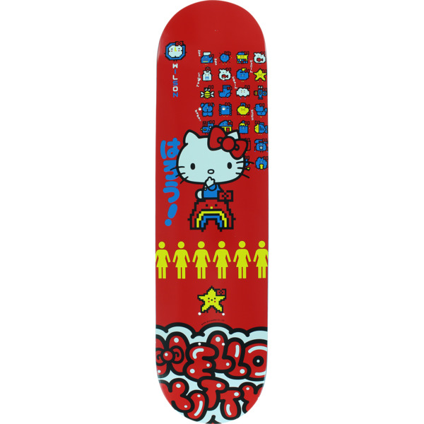 "Girl Skateboards Jeron Wilson Hello Kitty 45th Skateboard Deck - 7.87"" x 31.25"""