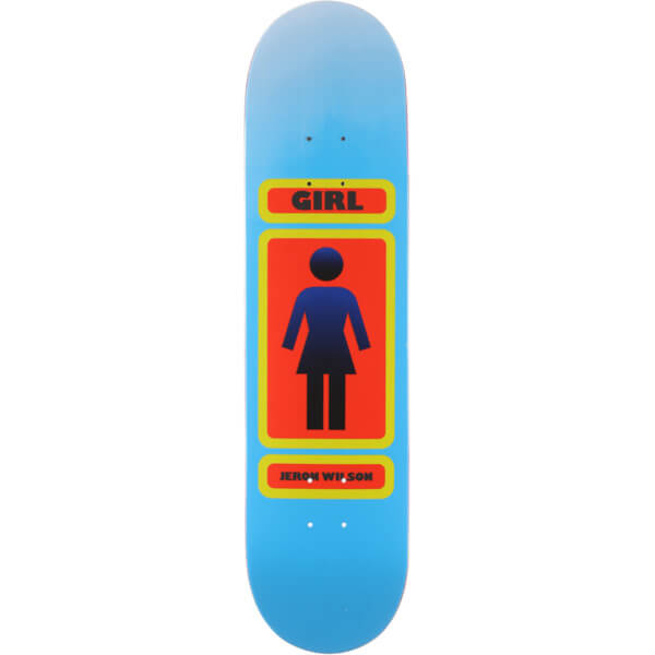 "Girl Skateboards Jeron Wilson 93 Til Skateboard Deck - 7.87"" x 31.25"""