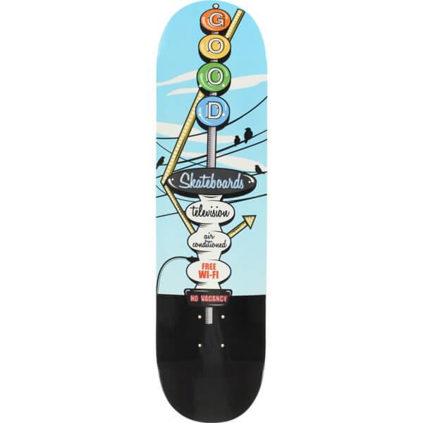 "Good Skateboards Motel Sky Skateboard Deck - 8"" x 31.625"""