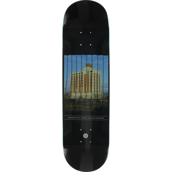 "Habitat Skateboards Pat O'Rourke O'Rourke Photo Collection Skateboard Deck Medium - 8.12"" x 31.38"""